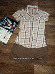 Фирменный костюм для девочки на 9-11 лет