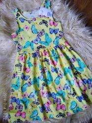 летние платья сарафаны H&M на 6-12 лет разные