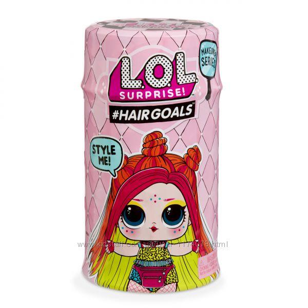 LOL Hairgoals Куколка ЛОЛ с волосами 2 волна