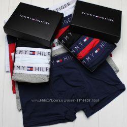 Подарочный набор мужского нижнего белья Tommy Hilfiger, трусы боксеры 3 шт