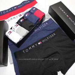 Подарочный набор мужского нижнего белья Tommy Hilfiger, трусы боксеры 5 шт