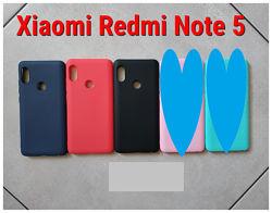 Xiaomi Redmi Note 5 Чехол, накладка, стекло защитное