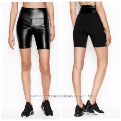 Victoria&acutes Secret шорты из Эко кожи BIKE SHORT