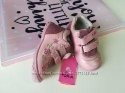 Кожаные ботинки 21-22 размер