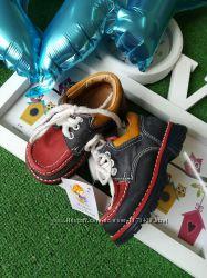 Кожаные ботинки 21 размер