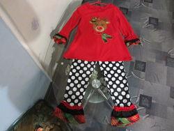 Красивая пижамка или домашний костюм для девочки