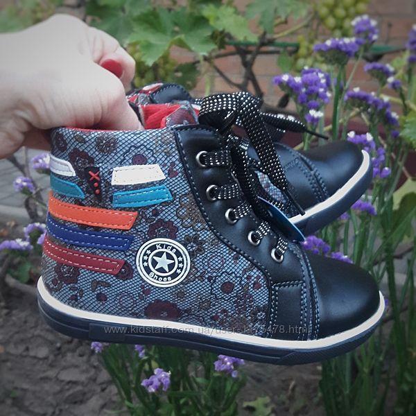 Демисезонные ботинки на девочку 29 размер