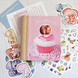 BabybookДетская книга первого года вашего ребенка, записей и фото подарок