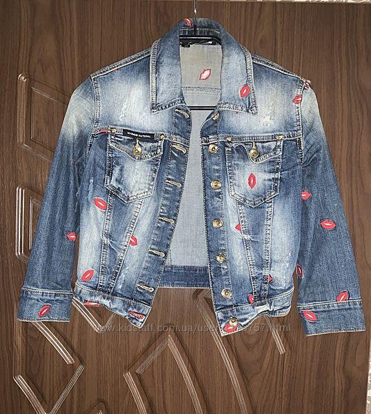 Джинсовка джинсовая куртка AMN Amnesia джинсовый пиджак фабричная Турция