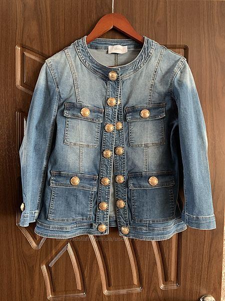 Куртка джинсовая пиджак джинсовый джинсовые Joleen Италия