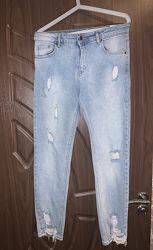 Джинсы брюки штаны женские фабричная Турция