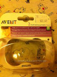 Силиконовая накладка Avent для грудидля кормления
