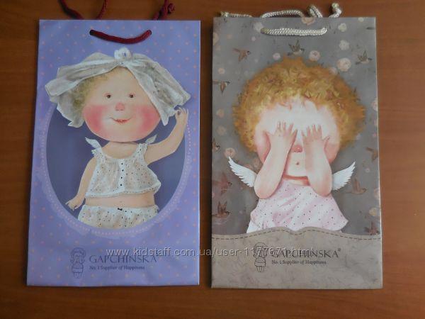 Подарункові пакети різні