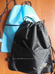 Сумка - рюкзак для змінного взуття, плотна плащовка