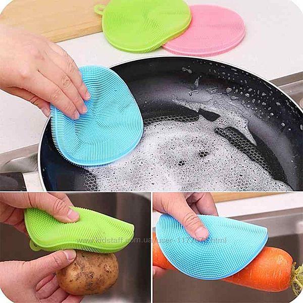 Силіконова губка для миття посуду