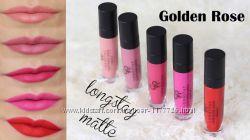 Супер стойкая помада-блеск Golden Rose LONGSTAY Liquid Matte