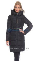 Зимняя куртка на холлофайбере, пальто пуховик без меха Lusskiri L, XL, XXL