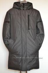 Акция Удлинненный пуховик, мужская куртка, Disenwor, 46, 48, 50, 52, 54