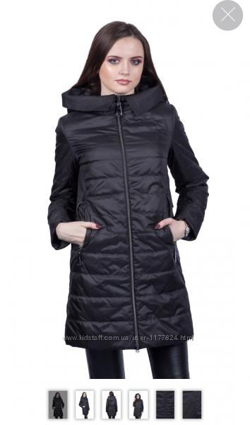 Демисезонная длинная куртка плащ Clasna 021, S, M