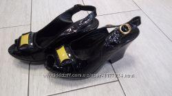 Распродажа кожаные турецкие босоножки на платформе