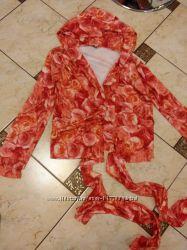 Красивая блуза на запах