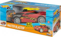 Hot Wheels с дистанционным управлением Master Blaster, хот вилс