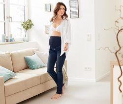 Удобные качественные джинсы беременным, моделируют фигуру, TchiboГермания,