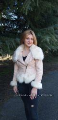 Стильная куртка-полушубок мирового бренда  kennet street. Италия