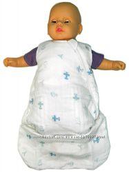 Детский спальный мешок из муслина
