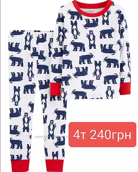 Пижама детская Carters 2Т 3Т, 4,  роки