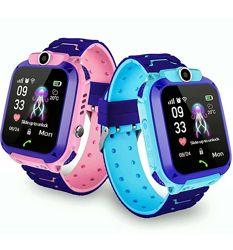 Smart Baby Watch Q12 умные детские смарт часы