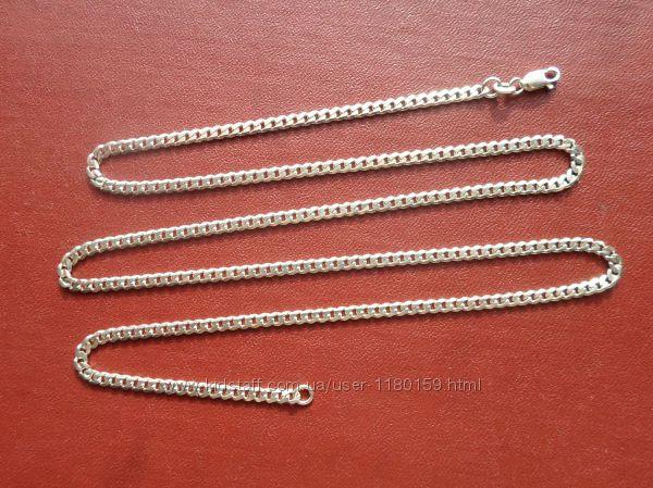 Новая панцырная цепочка 9. 6гр. , серебро 925.