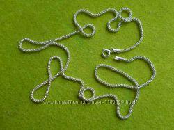 Новая серебряная цепочка снейк- змейка, серебро 925.