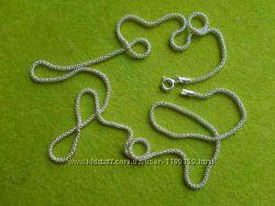 Новая нежная цепочка снейк- змейка 3, 21 гр. , серебро 925.