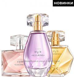 Женские парф. воды Avon Eve Elegance, Truth, Alluring, Confidence