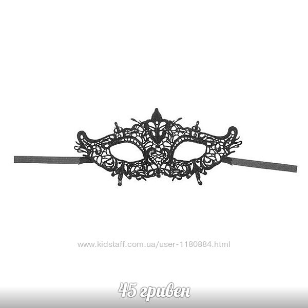 распродажа черная ажурная карнавальная маска эротическая кружевная