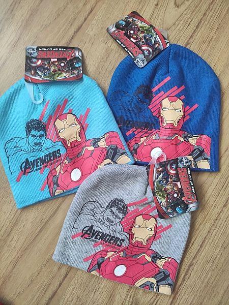 Детская шапка герои Марвел Щенячий патруль Человек паук  черепашки ниндзя
