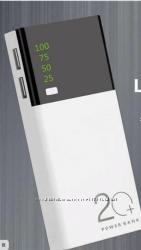 Внешний аккумулятор, повербанк, Power bank 20000мАч