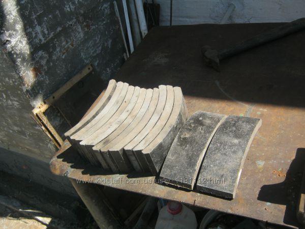 накладки на колодки Зил передні
