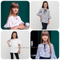 Блузы для школы. Размеры 128-152