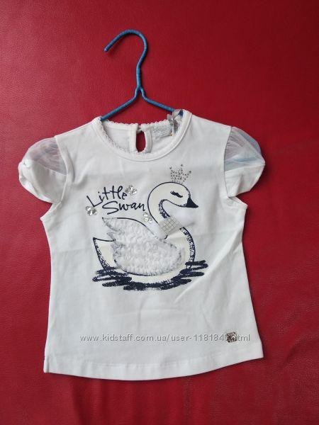 Милая итальянская футболочка на девочку