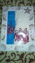 Новый набор турецких махровых полотенец Ekgun Moz Turkiye Турция