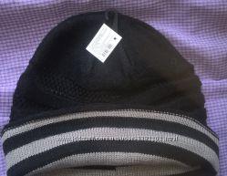 шапка мужская , акрил, весна-осень-зима 56-62