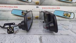 Зеркало видеорегистратор Т1 с камерой заднего вида