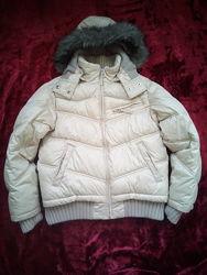 Курточка для девочки теплая зима - холодная осень, р. 140
