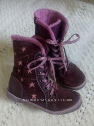 Кожаные демисезонные ботинки Baren- Shune 27 p