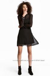 Платье на все случаи H&M c вышивкой размер 8 Англия