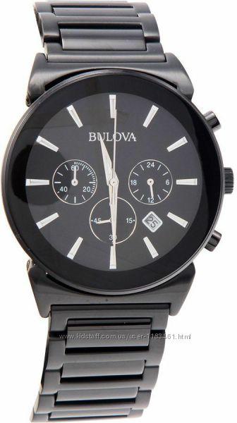 Мужские брендовые часы Bulova Classic Chronograph 98B215 оригинал