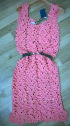 платье, кружево, Ermanno Scervino, оригинал, вязаное