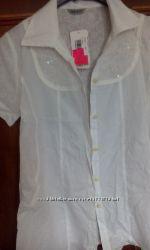 Біла блузка для вагітних